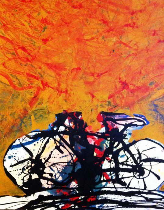 Claudio Granaroli, Bicicletta, 150x170, 2012