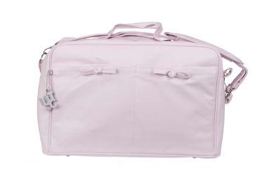Bolsa maternidad + cambiador roma rosa