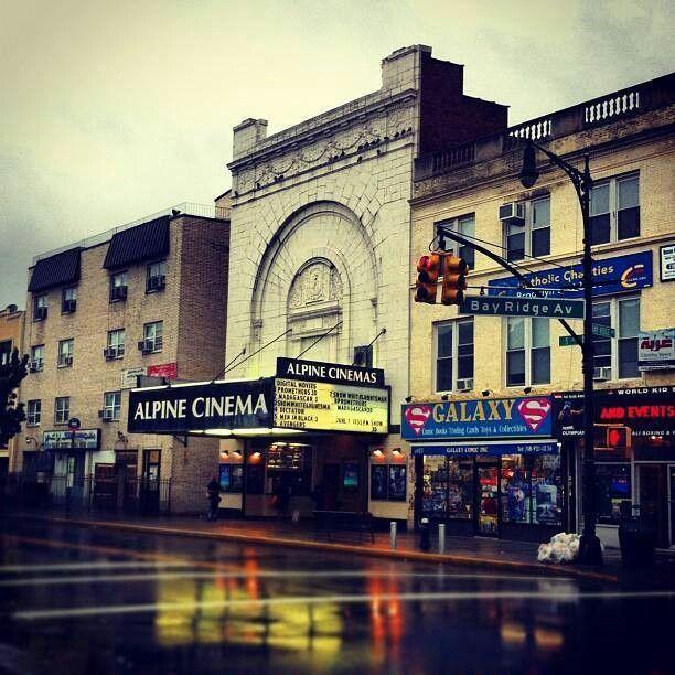 Alpine movie theater