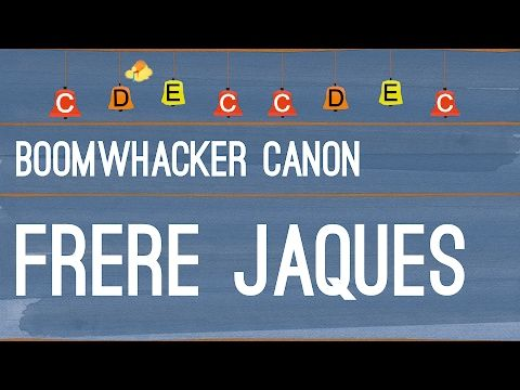 Frère Jacques - Boomwhackers - YouTube