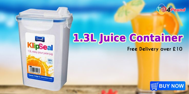 Buy Juice Storage Container - 1.3 Litres Only at #4pound store