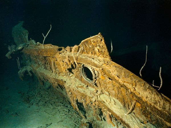 Titanic Underwater Bodies | Discovering Titanic Pictures, Titanic Photos, Photo Gallery, Picture ...