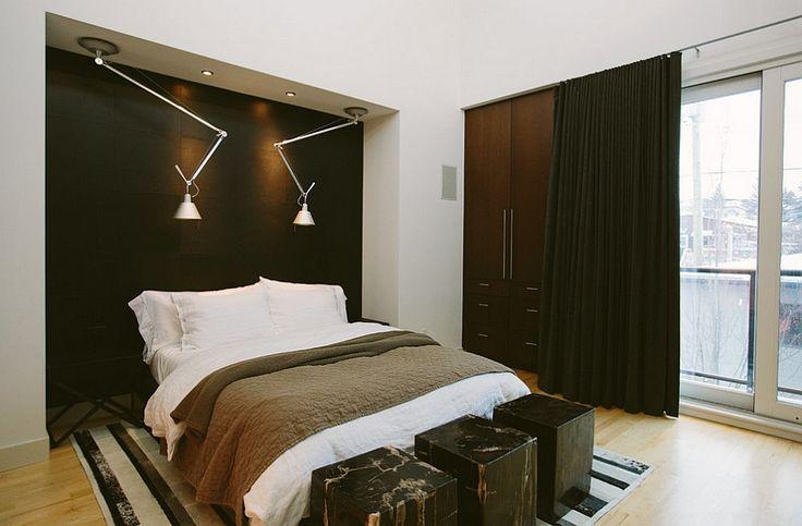 Stijlvolle Mannen Slaapkamer : Beste afbeeldingen van bedachterwand slaapkamerideeën
