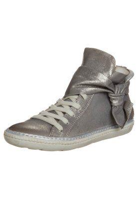 MJUS Sneakers hoog - zilverkleurig - Zalando.nl