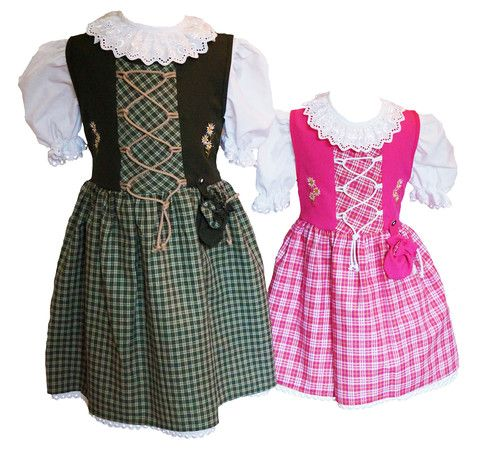 Kinderdirndl Original Coala Grün – #Kinderdirndl Coalashop #Trachten