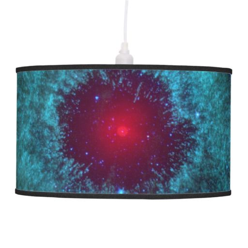 Helix Nebula in space lamp