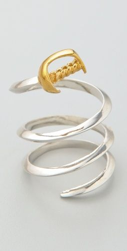 Noir Jewelry Sword Wraparound Ring, if I saw this at a store I would buy it!