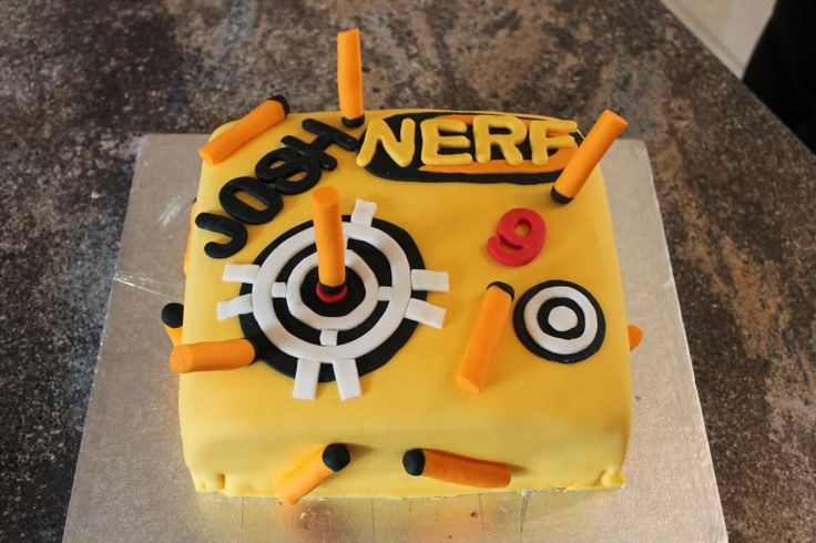 25+ best ideas about Nerf cake on Pinterest Nerf gun ...