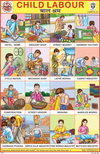 CHILD LABOUR CHARTS