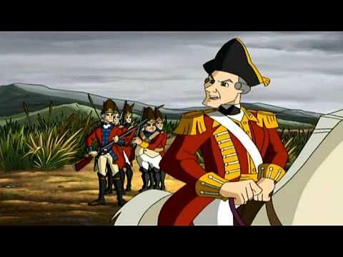 "Paul Revere - Homeschool History...Watch Liberty`s Kids: #05 ""Midnight Ride"" (1/2)"