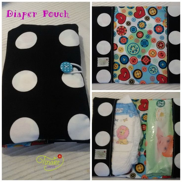 Diaper Pouch - Πορτοφόλι για πάνες και μωρομάντηλα