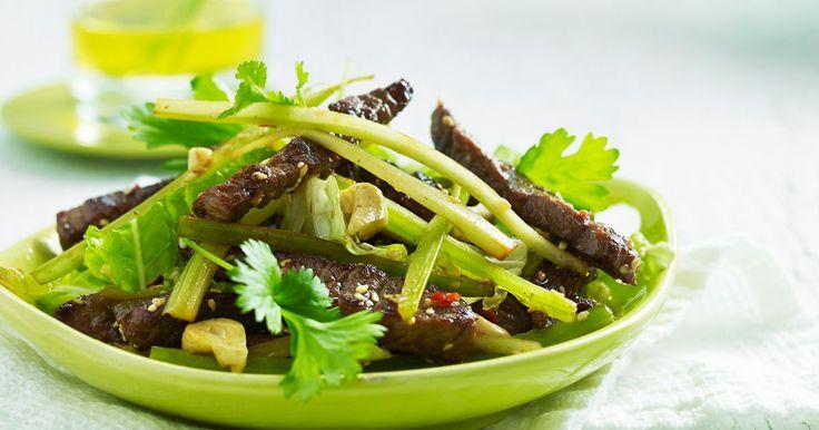 En smakfull salat for varme sommerkvelder