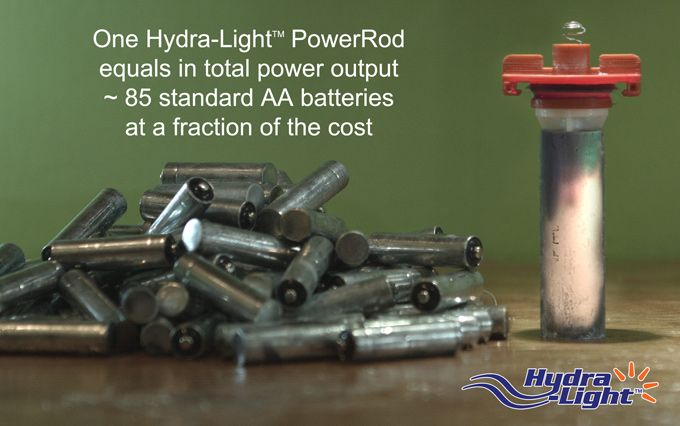 EC-250 Salt Water #EnergyCell power rod, what energizes the PL-500 Lantern & DC Charger #Tech #Travel #Environment