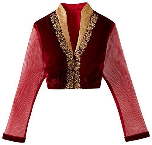 Pankhuri Velvet Front Button Blouse (PRZB 33_Maroon_S) Pankhuri http://www.amazon.in/dp/B00NSOI4PI/ref=cm_sw_r_pi_dp_DClYub12AX1VC