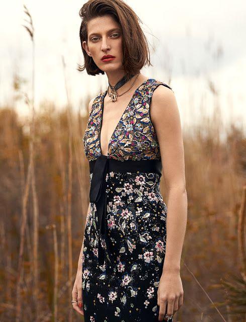 Jennae Quisenberry - Harper's Bazaar Cazaquistão Agosto 2017