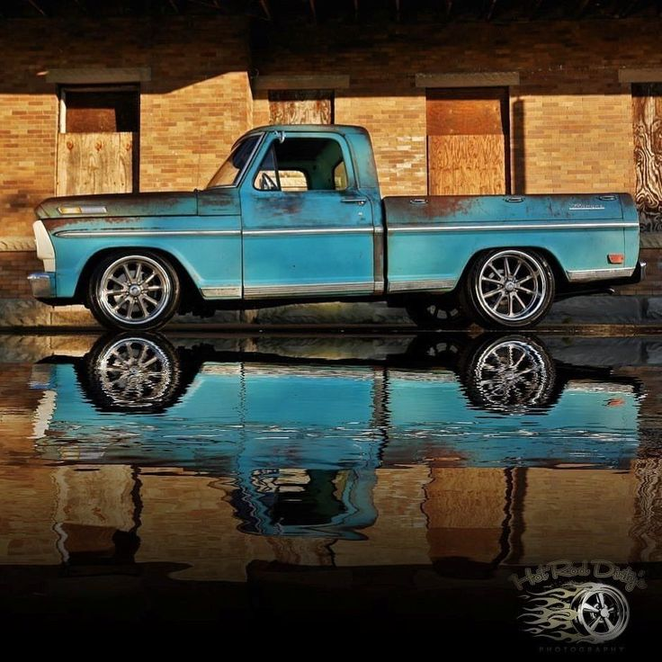 1968 Ford F-100 Patina Protouring Resto Mod Rod Supercharged F100