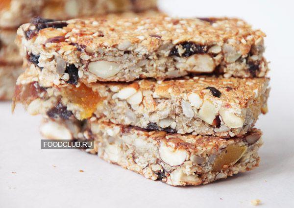 Домашние батончики мюсли — рецепт с пошаговыми фото. Foodclub.ru