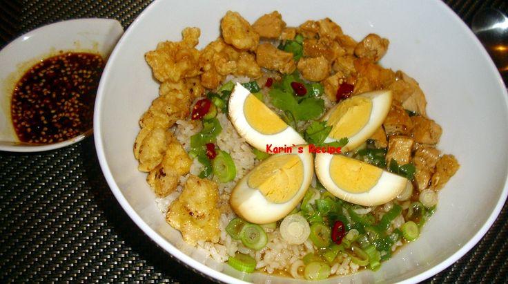 Karin`s Recipe: Nasi Bakmoy (Sautéed Meat-Tofu, Shrimp Balls & Bra...