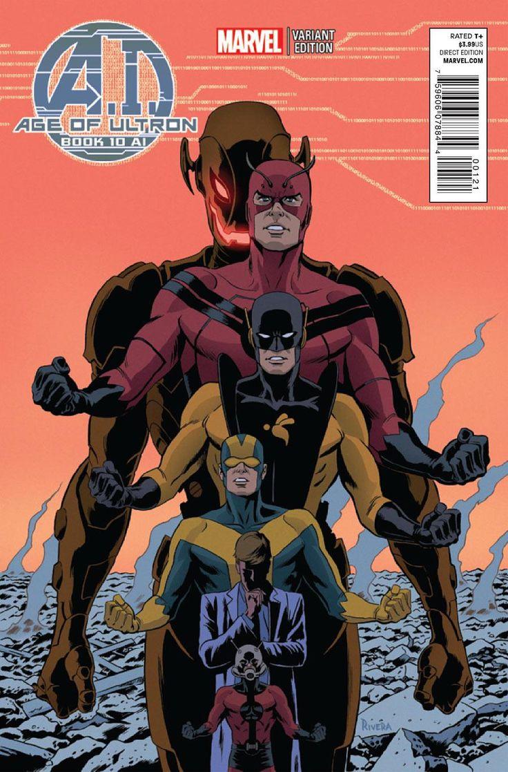 MARVEL - Ant-Man/ Hank Pym/ Goliat I/ Yellowjacket I/ Giant-Man/ Ultron - VENGADORES/DEFENSORES