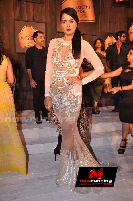 Sameera Reddy at Blenders Pride Fashion tour preview