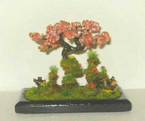 Diorama bonsai fantasy . 12