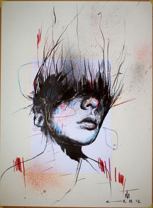 'LAST RAMONE' BY RUSS MILLS (SOLD)