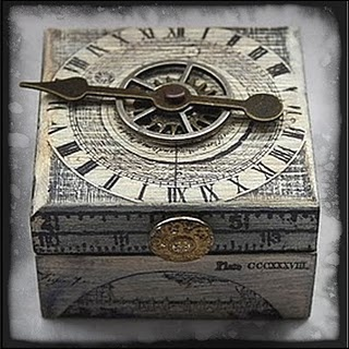 love this wee box -Wendy Schultz ~ Altered Art Projects.