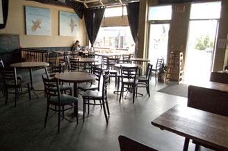 Cafe Deux Soleil, Commercial drive Vancouver BC