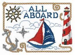Image result for cross stitch nautical sampler