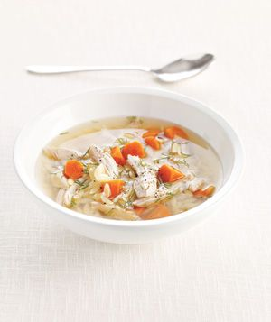 Turkey, Dill, and Orzo Soup recipe. This is delicious and a good