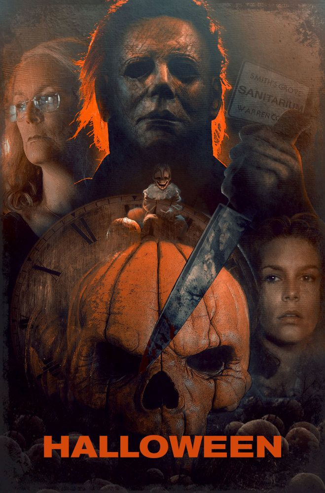 Halloween 2018 Fan Poster.Halloween 40 Years Of Terror Halloween 2018 Fan Posters