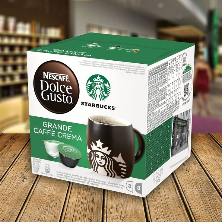 Dolce Gusto Starbucks Grande Cafe Crema.