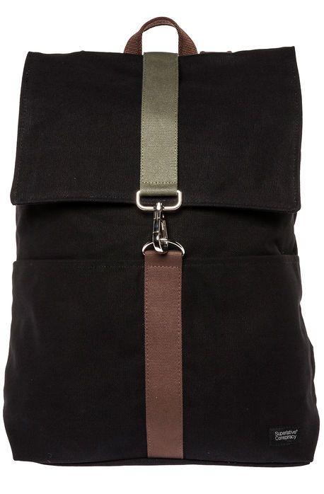 WeSC Backpack The Milian in Black