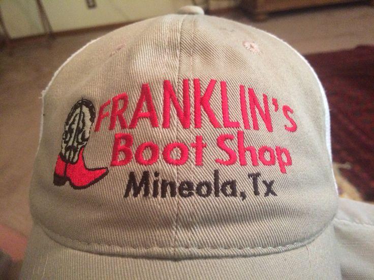 Boot Shop Caps