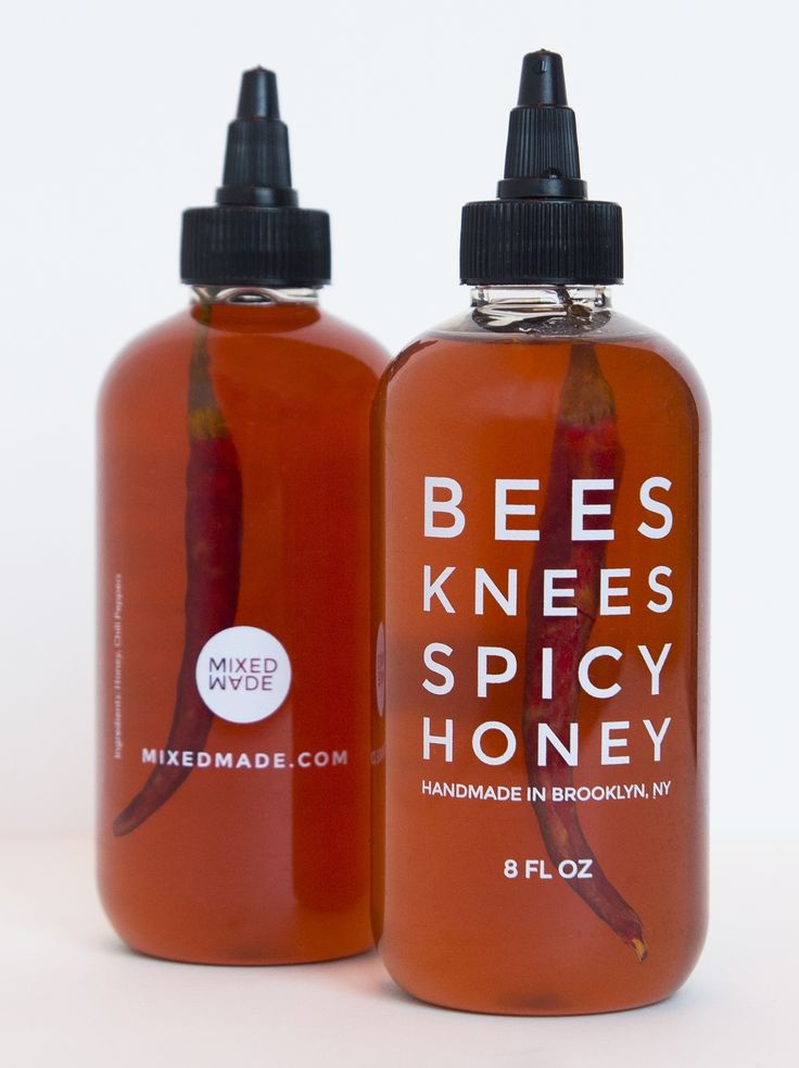 Bees Knees Spicy Honey  ///// Apiary Supplies - Beekeeping Supplies - Honey Supplies found at Apiary Supply | www.apiarysupply.com