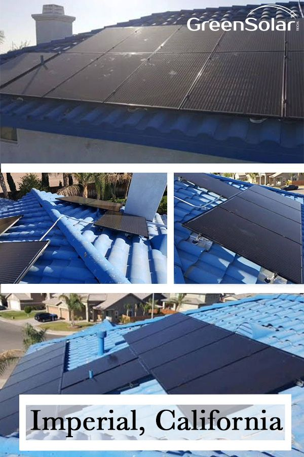 It Was Our Pleasure At Green Solar Technologies To Install Solar For Martin Of Imperial Ca His 11 6 Kw Pv Syste Pv System Solar Technology Solar Installation