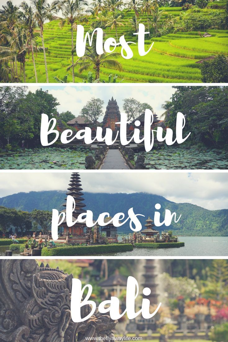 Bali is one of those islands that is on everyone's bucket list and for a good reason. Here are 11 of the most beautiful places to visit in Bali!