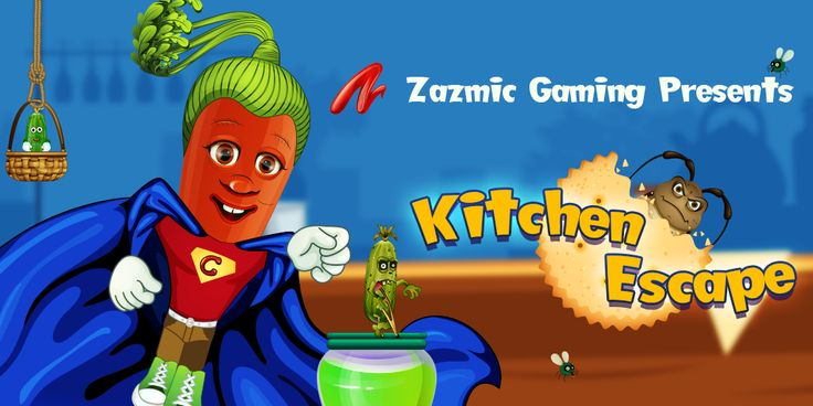 Download a new, feature-packed version of Kitchen Escape by Zazmic Gaming for iOS & Android!  https://www.zazmic.com/blog-and-news/download-new-feature-packed-version-kitchen-escape-zazmic-gaming-ios-android.html  #gaming #game #gamedev