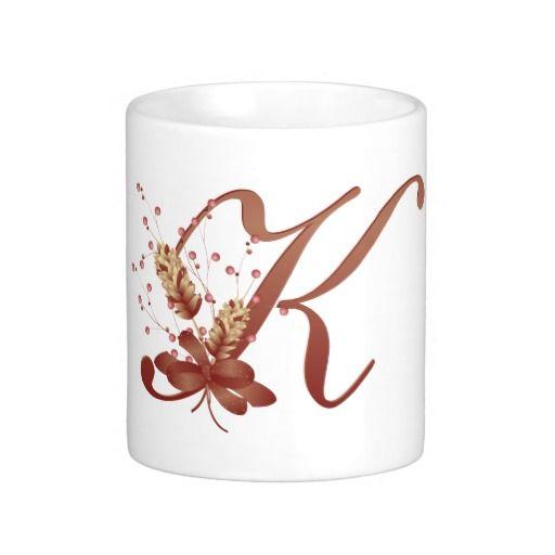 93 best k for kaitlyn images on pinterest lyrics names for Monogram letters for cups