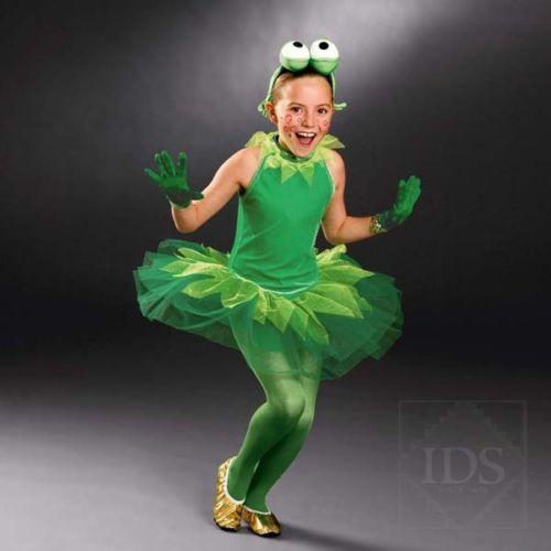 GREEN VELOUR TUTU - BALLET DRESS - FROG DANCE COSTUME | eBay