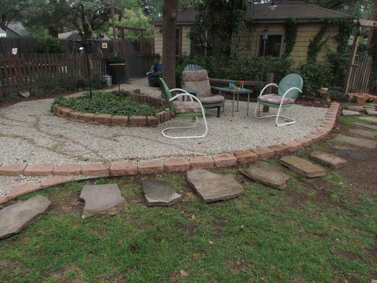 30 best gravel patio images on pinterest | backyard ideas, patio ... - Gravel Patio Designs