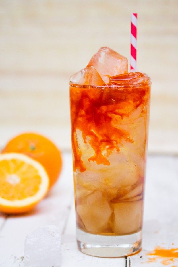 A delicious Thai-flavored spin on a classic cocktail. This recipe adds freshly brewed Thai iced tea to the Long Island iced tea for extra fun.