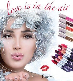 Flawless lipsticks lipgloss: Love is in the Air and who doesn't enjoy being kissed by the ones they love? Sonya Luscious Lip Color Why you'll love it: Sonya Delicious Lipstick