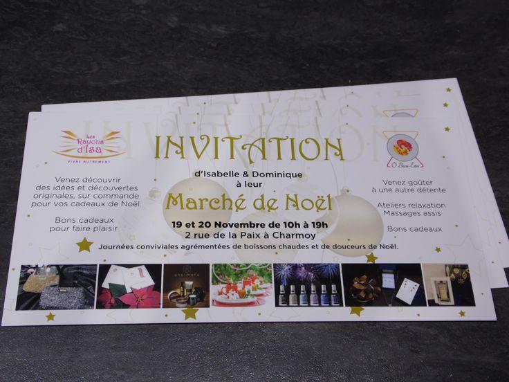 Carton d'invitation R°