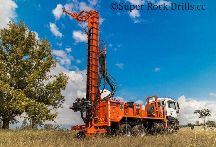A Super Rock 5000 RC rig manufactured by Super Rock Drills cc,South Africa .