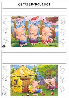 Os Três Porquinhos   Ideia Criativa - Gi Barbosa Educação Infantil