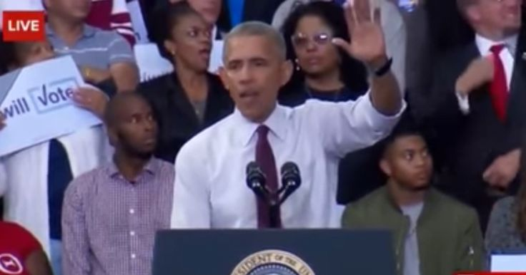 FAIL: Obama Angry After Unable to Silence Unruly Hillary Crowd
