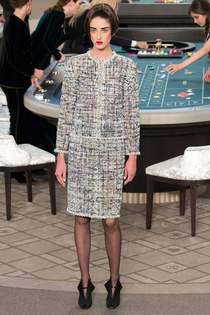 Chanel Fall 2015 Couture Fashion Show - Cris Herrmann (Next)