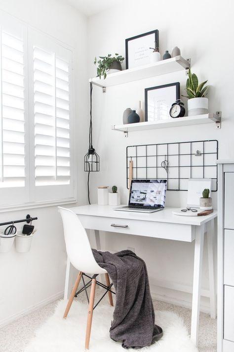 45+ Best Desk Decor Design-Ideen und lustige Accessoris DIYs für Ihren Schreibtisch   – Zimmer Einrichten
