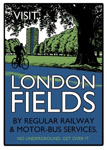 Image of Beyond Thrilled, London Fields £60